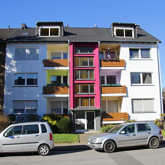 Bild von einem weiteren Mehrfamilienhaus in Herne, welches von uns saniert wurde